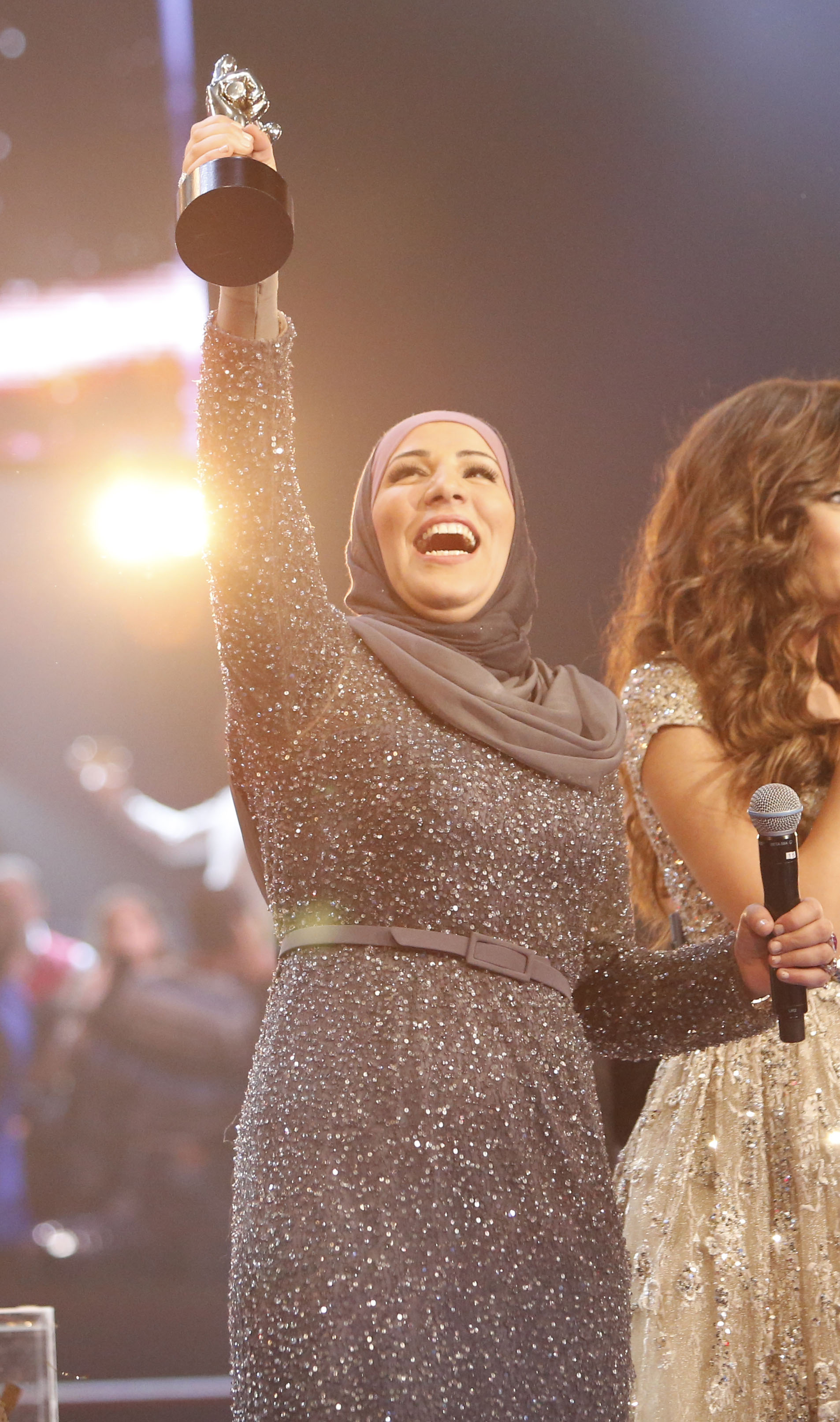 MBC1 & MBC MASR the Voice S3 - Finale - winner Nidaa Charara