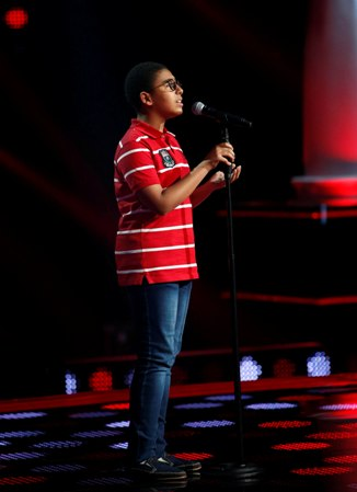 MBC1 & MBC MASR- the Voice Kids- Blind 6- Nancy's team-  Ahmad Al Hussein (1)