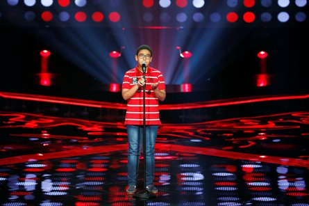 MBC1 & MBC MASR- the Voice Kids- Blind 6- Nancy's team-  Ahmad Al Hussein (2)