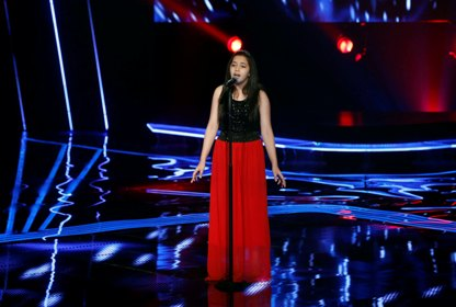 MBC1 & MBC MASR the Voice Kids S1 - Blind 5 - Nancy's team - Farah Al Mouji