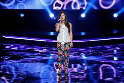 MBC1 & MBC MASR the Voice Kids S1 - Blind 5 - Nancy's team - Hala Abou Lteif