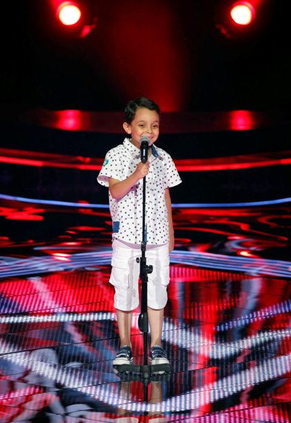 MBC1 & MBC MASR the Voice Kids S1 - Blind 5 - Tamer's team - Ahmad AlSisi (1)