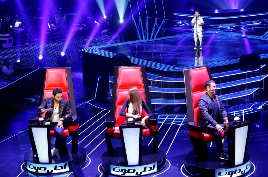 MBC1 & MBC MASR the Voice Kids S1 - Blind 5 - Tamer's team - Ahmad AlSisi (2)